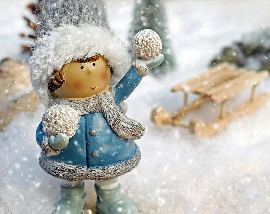 hiver, froid, massage, globe santé